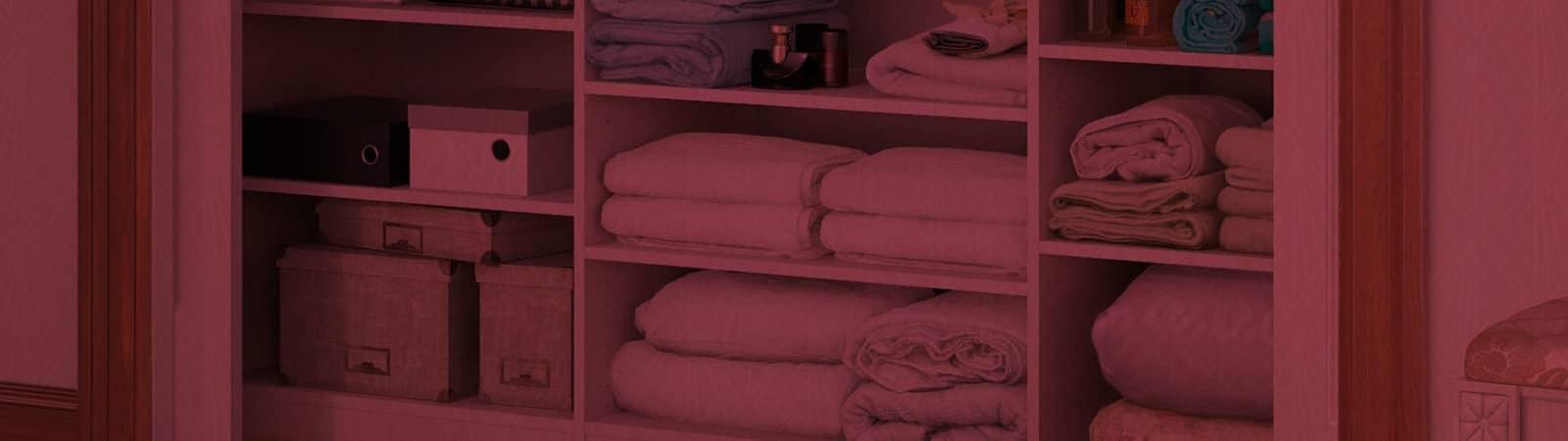 Como organizar as roupas de cama, mesa e banho