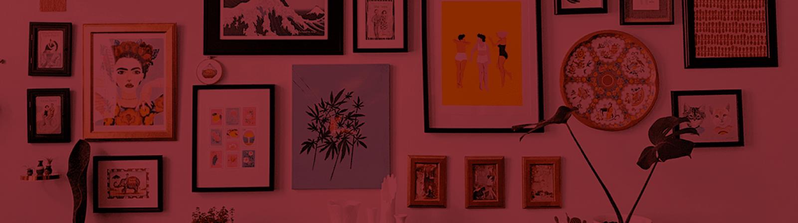 5 Dicas para usar quadros na decoração